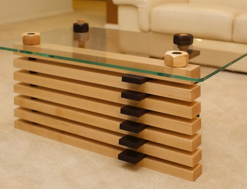 Nuts and Bolts Coffee Table